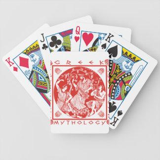 Greek Mythology - Red Bicycle Playing Cards