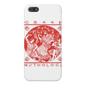 Greek Mythology - Red Cover For iPhone SE/5/5s