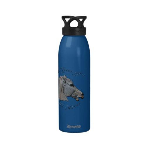 Greek Mythology Year of the Horse Reusable Water Bottles