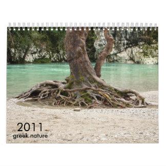 greek nature calendars