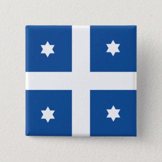Greek Navy Admiral, Greece flag Pinback Button