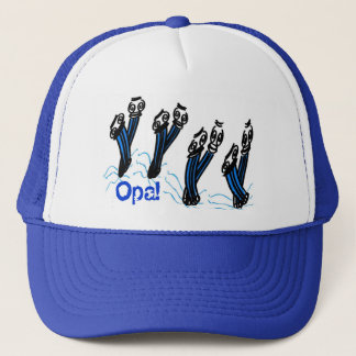 Greek Opa Dancing Columns Hat