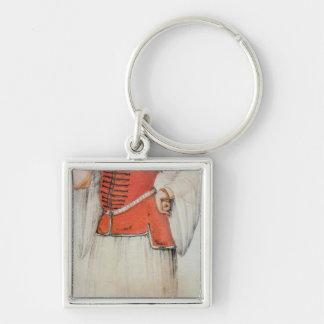 Greek or Turkish woman Keychain