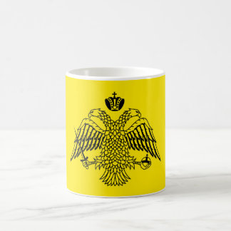 Greek Orthodox Church flag Mount Athos religious Coffee Mug