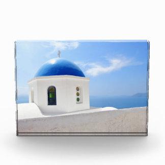 Greek orthodox church in Santorini island, Greece Award