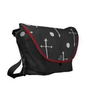 greek orthodox cross messenger bag
