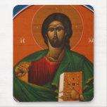 GREEK ORTHODOX ICON JESUS CHRIST MOUSE PAD