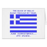 Greek Ouzo Card