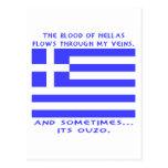 Greek Ouzo Postcards