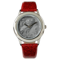 Greek Owl Wristwatch