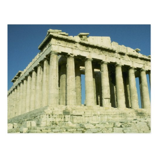 Greek Parthenon Postcard