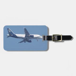 Greek Passenger Jet Luggage Tag