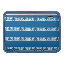 Greek Pattern custom MacBook sleeve