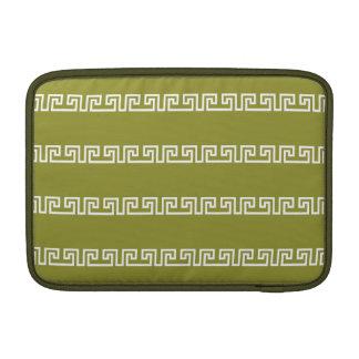 Greek Pattern custom MacBook sleeve