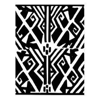 Greek Pattern Postcard