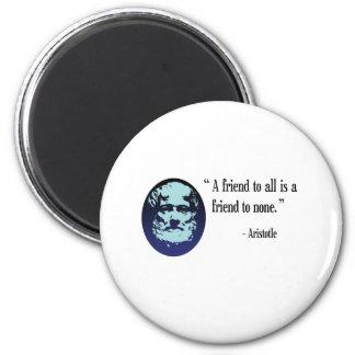 Greek Philosopher Aristotle Fridge magnet