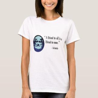 Greek Philosopher Aristotle white top
