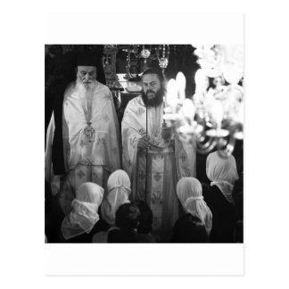 Greek priests post cards