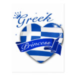 Greek Princess Postcard