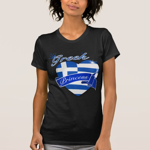 Greek Princess Tee Shirt
