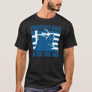 GREEK PROTEST DOG T-Shirt