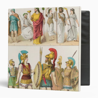 Greek Religious and Military Dress Binder