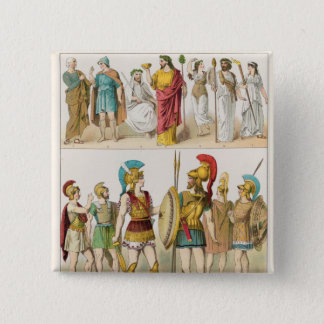 Greek Religious and Military Dress Button