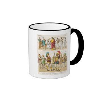 Greek Religious and Military Dress Ringer Mug