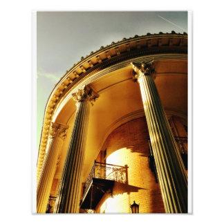 Greek Revival Portico, Savannah Photo Print