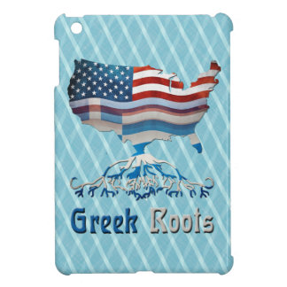 Greek Roots American Map iPad Case
