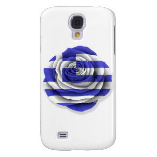 Greek Rose Flag on White Samsung S4 Case