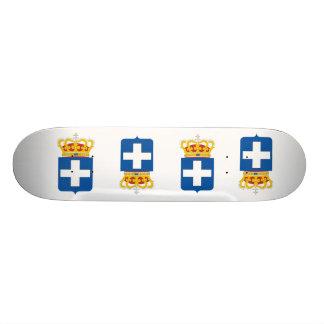 Greek Royal Arms Greece Skate Deck