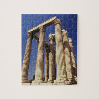 Greek ruins, Athens, Greece Jigsaw Puzzles