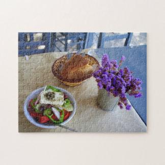 Greek salad jigsaw puzzle