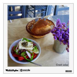 Greek salad room graphics