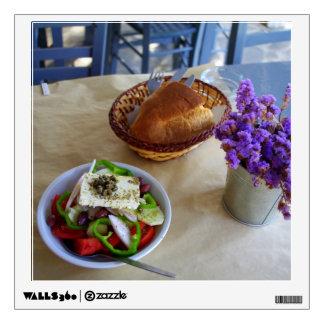 Greek salad room decals