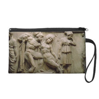 Greek Sarcophagus with a Scene showing the Battle Wristlet Purses