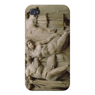 Greek Sarcophagus with a Scene showing the Ble Cover For iPhone 4