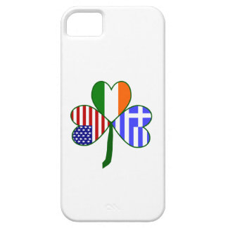 Greek Shamrock iPhone SE/5/5s Case