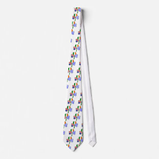 Greek Shamrock Tie