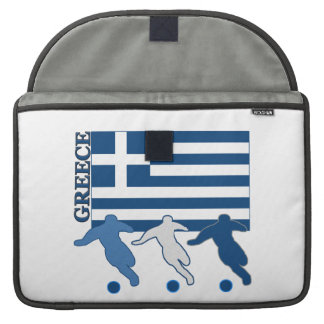 Greek Soccer Players Sleeve For MacBooks