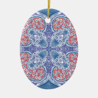 Greek Summer Ceramic Ornament