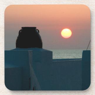 Greek Sunset Coaster Set
