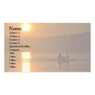 Greek Sunset Over Sea Business Cards