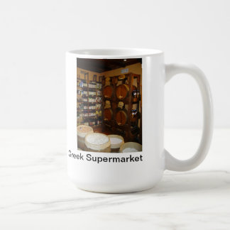 Greek Supermarket Coffee Mug