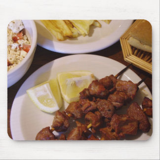 Greek Suvlaki - Pork Shish Kabobs Mouse Pad
