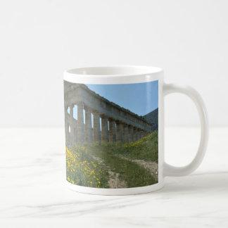 Greek Temple, Segesta, Sicily, Italy Coffee Mugs
