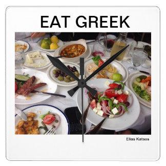 GREEK THEMED CLOCK