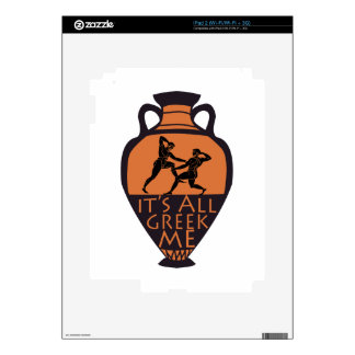 Greek To Me Decals For The iPad 2