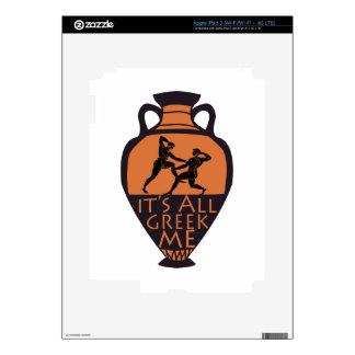 Greek To Me iPad 3 Skin